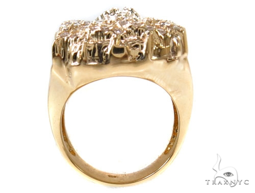Prong Diamond Jesus Ring 36893 Stone