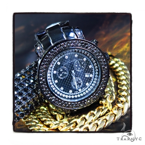 Prong Diamond Joe Rodeo Watch JJU-148 44316 Men Specials