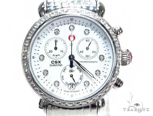 Prong Diamond Michele Watch 41581 Michele