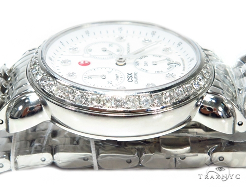 Prong Diamond Michele Watch 41581 Michele Diamond Watches