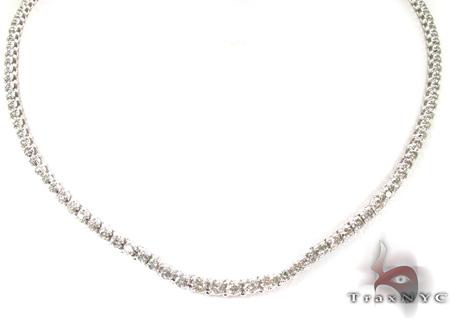 Prong Diamond Necklace 28978 Diamond