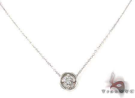 Prong Diamond Necklace 29174 Diamond