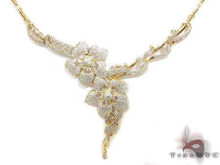 Prong Diamond Necklace 29274 Diamond
