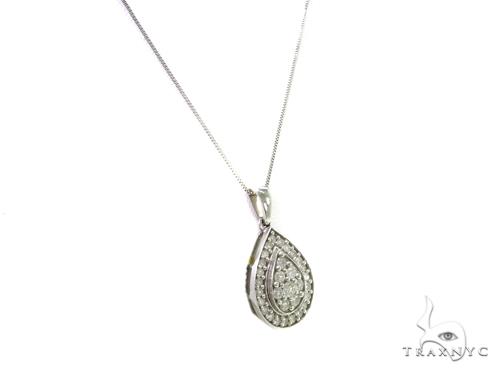 Prong Diamond Necklace 37977 Diamond