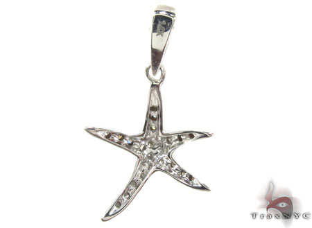Prong Diamond Pendant 29423 Stone