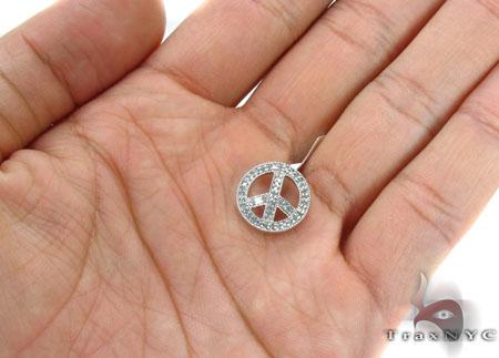 Prong Diamond Pendant 29440 Stone