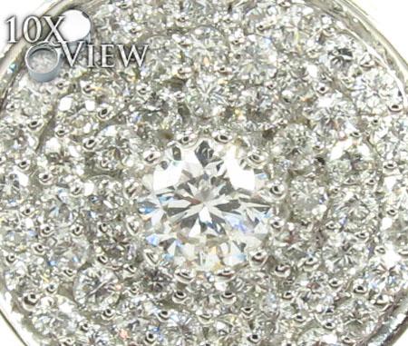Prong Diamond Pendant 29450 Stone