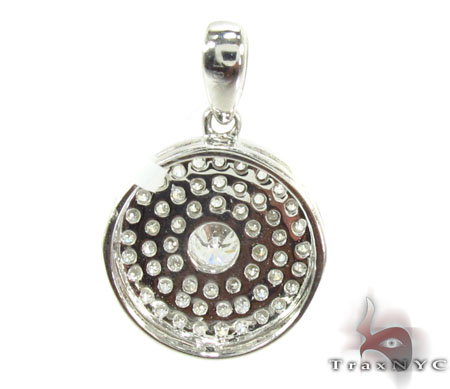 Prong Diamond Pendant 29450 Stone