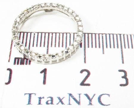 Prong Diamond Pendant 30661 Stone