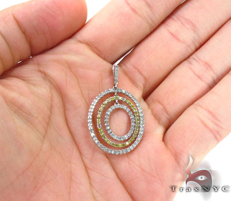 Prong Diamond Pendant 30675 Stone