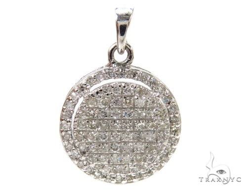 Prong Diamond Pendant 37894 Stone