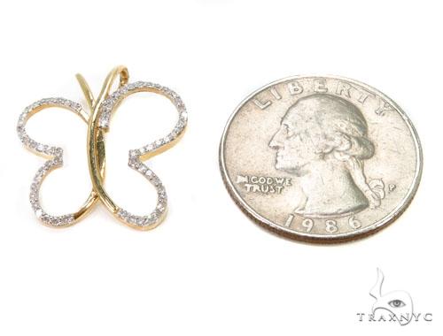 Prong Diamond Pendant-40126 Stone