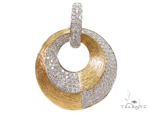 Prong Diamond Pendant 40584 Stone