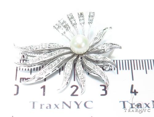 Pearl Diamond Pendant 42632 Stone