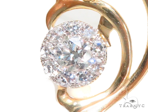 Prong Diamond Pendant 43587 Stone