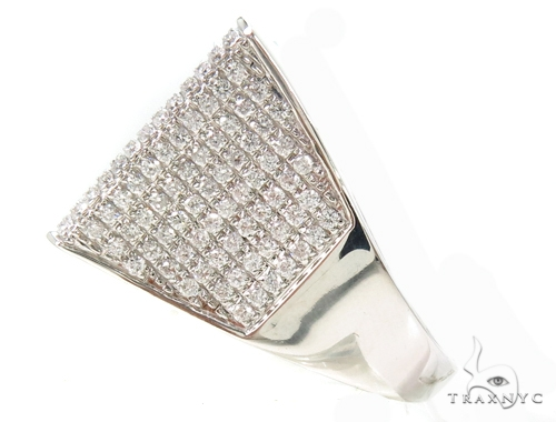 Prong Diamond Ractangle Ring 37911 Stone
