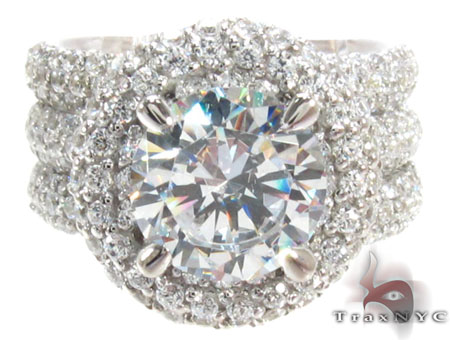 Prong Diamond Ring 32069 Engagement