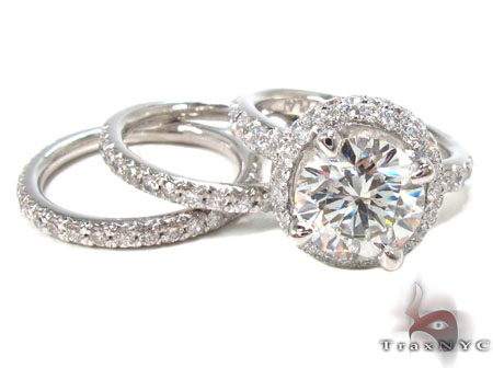 Prong Diamond Ring 32876 Engagement