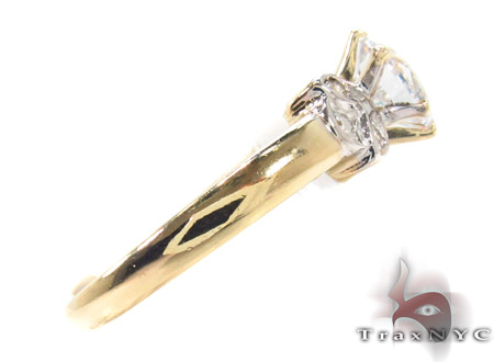 CZ 10k Gold Ring 33334 Anniversary/Fashion