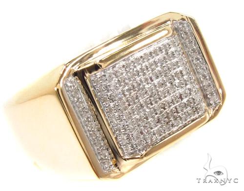 Prong Diamond Ring 35055 Metal