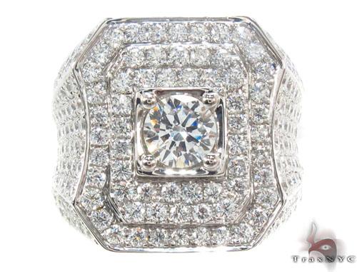 Prong Diamond Ring 35662 Stone