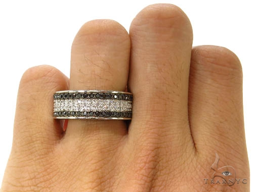 Stripes Ring 37035 Stone