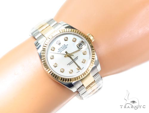 Rolex Datejust Yellow Gold 116233 Diamond Rolex Watch Collection