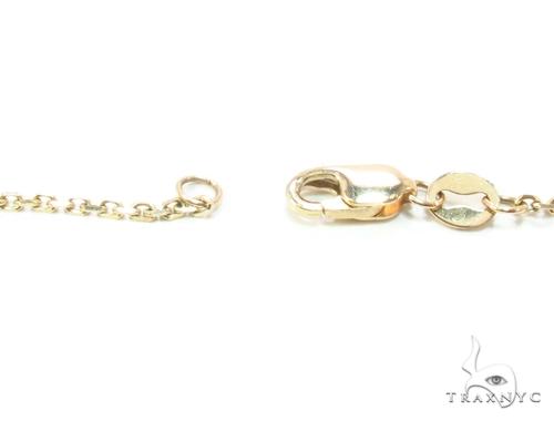 Prong Diamond & Sapphire Necklace 35270 Gemstone