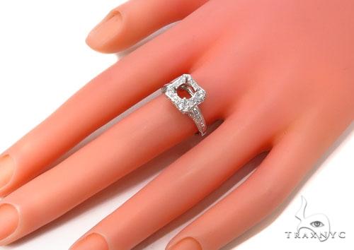 Prong Diamond Semi Mount Ring 39533 Engagement