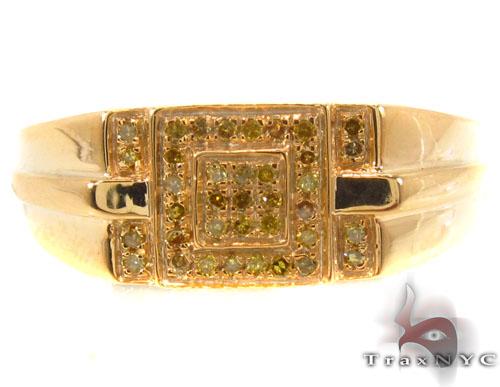 Prong Diamond Silver Ring 34525 Metal
