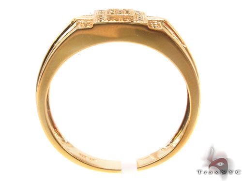 Prong Diamond Silver Ring 34525 Metal