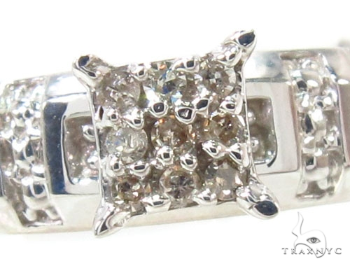 Prong Diamond Silver Ring Set 36833 Anniversary/Fashion