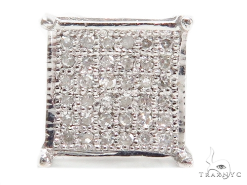 Prong Diamond Single Earring 40640 Style
