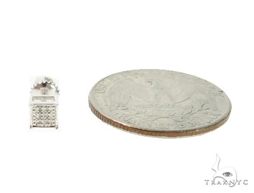 Prong Diamond Stud Earrings 49354 Metal