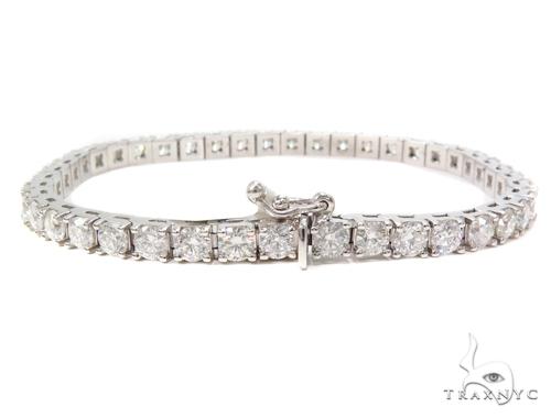 Prong Diamond Tennis Bracelet 40818 Tennis