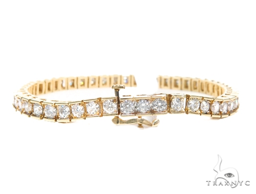 Prong Diamond Tennis Bracelet 41871 Tennis