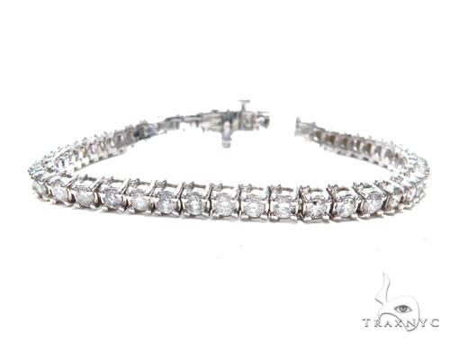 Prong Diamond Tennis Bracelet 41872 Tennis