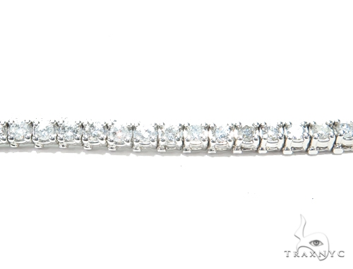 Prong Diamond Tennis Bracelet 41872 Tennis