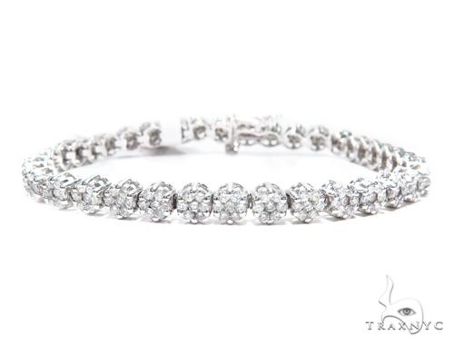 Prong Diamond Tennis Bracelet 41873 Tennis