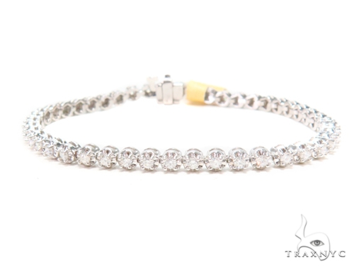 Prong Diamond Tennis Bracelet 43282 Tennis