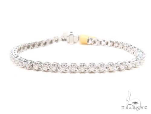 Prong Diamond Tennis Bracelet 43282 Tennis