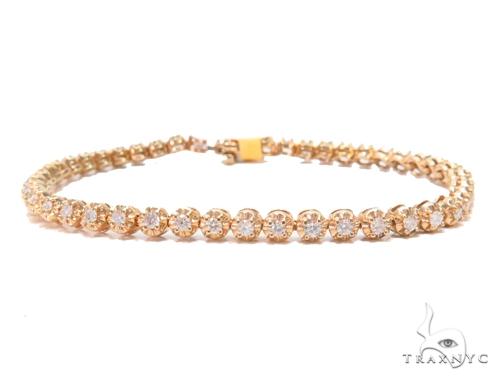 Prong Diamond Tennis Bracelet 43292 Tennis