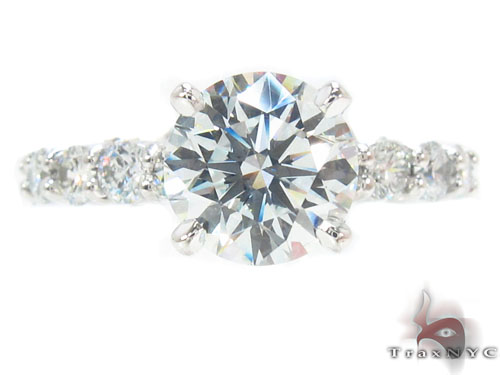 Prong Diamond Wedding Ring 34331 Engagement