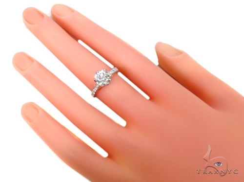 Prong Diamond Wedding Ring 37866 Engagement