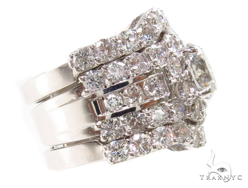 Prong Diamond Wedding Ring Set 39769 Engagement