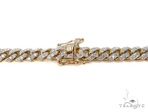 Prong Miami Cuban Diamond Chain 30 Inches 9mm 148.6 Grams 40450 Diamond