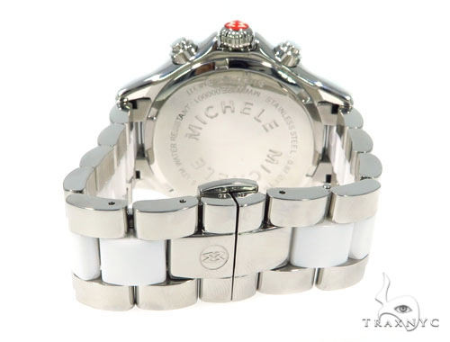 Prong Michele Diamond Watch 56512 Michele Diamond Watches