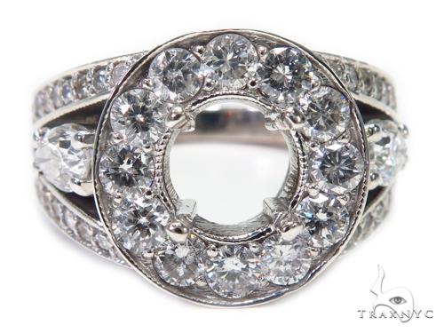 Prong Semi Mount Ring 40415 Engagement