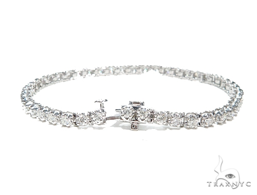 Prong Tennis Diamond Bracelet 42627 Tennis