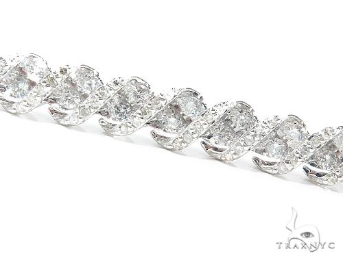 Prong Tennis Diamond Bracelet 42629 Tennis